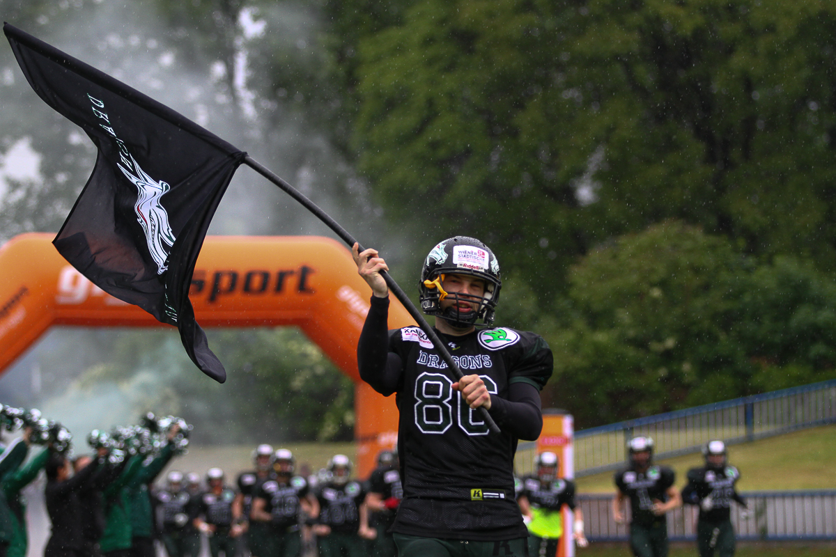 Danube Dragons vs. Swarco Raiders Tirol