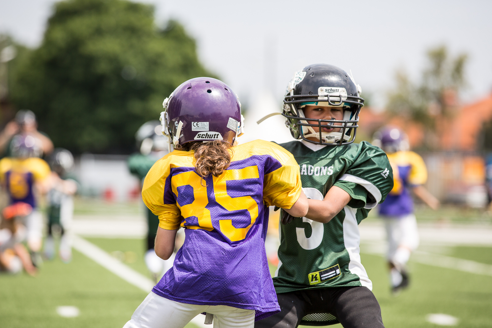 Raiffeisen Vikings vs Danube Dragons U11