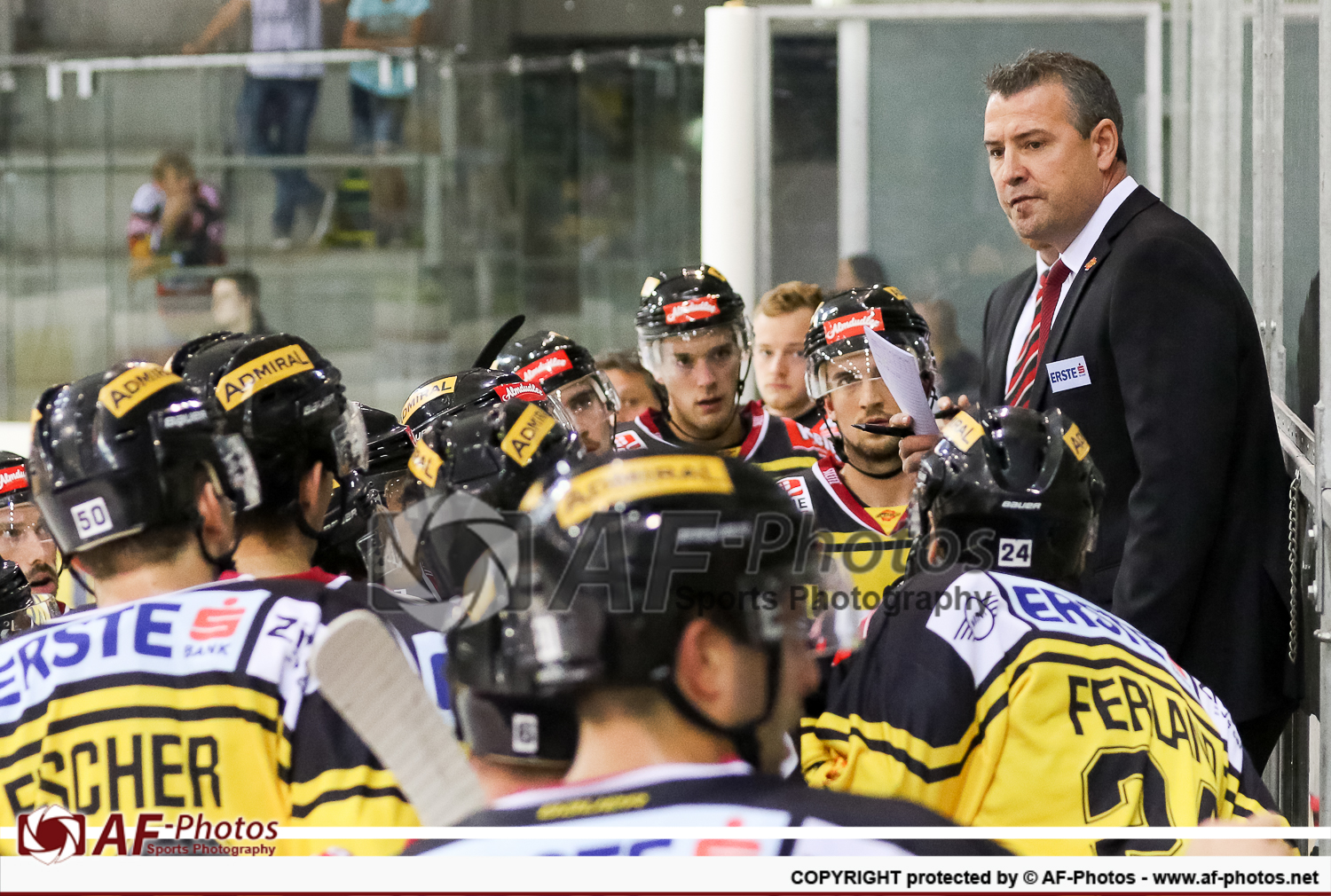 UPC Vienna Capitals vs EHC Liwest Black Wings Linz