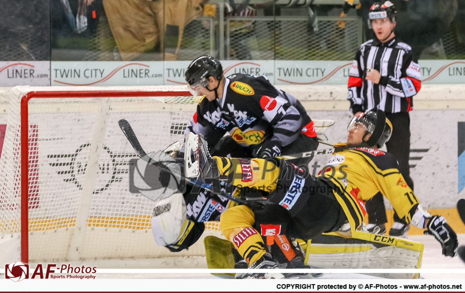 UPC Vienna Capitals vs Dornbirner Eishockey Club