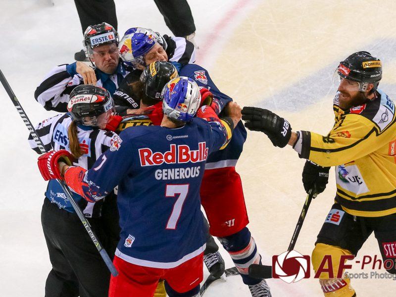UPC Vienna Capitals vs EC Red Bull Salzburg