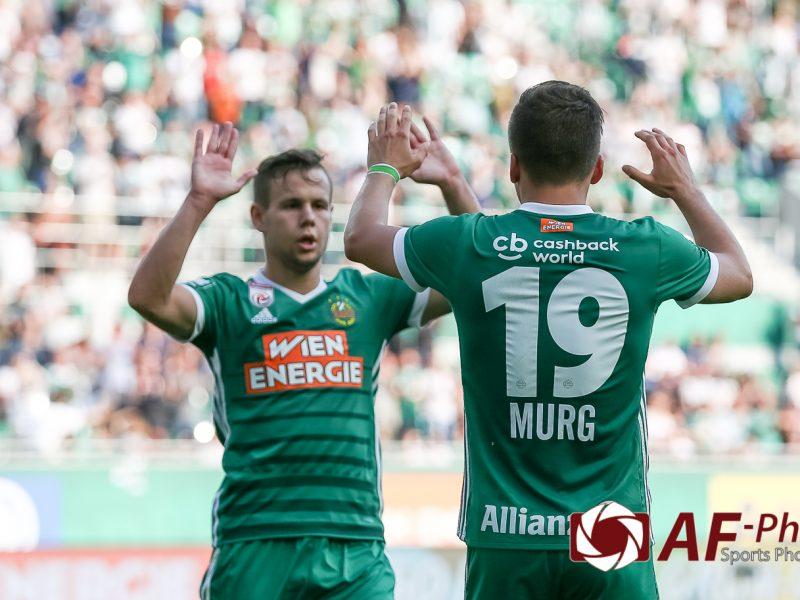 SK Rapid Wien vs FC Flyeralarm Admira