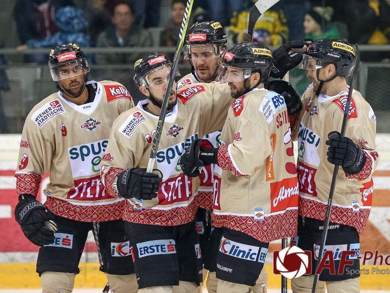 """spusu Vienna Capitals vs HC TWK Innsbruck """"Die Haie"""""""
