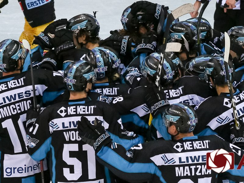 spusu Vienna Capitals vs EHC Liwest Black Wings Linz