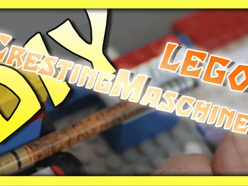 """DIY - """"Lego Cresting Maschine"""""""