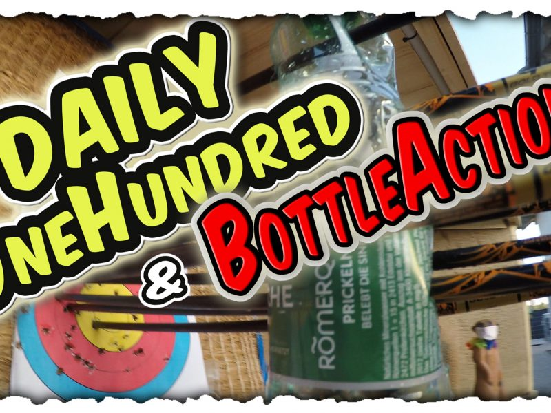 Daily One Hundred, mit abschließender Bottleaction